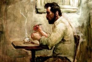 english-author-painting